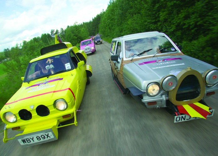 Extreme Trifle Reliants to Russia Rally