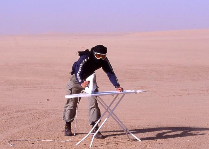 Extreme Trifle Extreme Ironing - Sahara