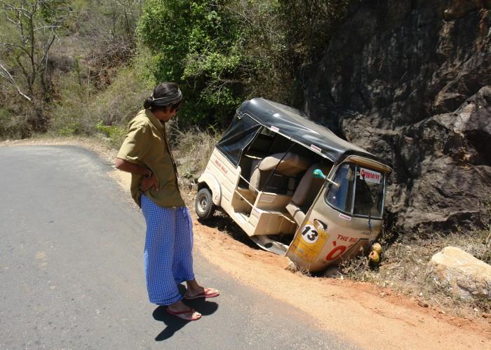 Extreme Trifle Rickshaw Rampage Rally India