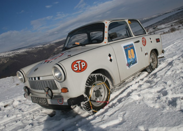 Extreme Trifle Trabant Rally in Transylvania