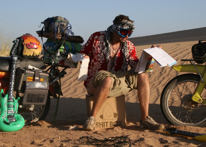 Extreme Trifle Wrong Way Round Sahara Moped Rally