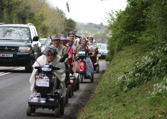 Extreme Trifle Isle of Nan TT Mobility Scooter Race