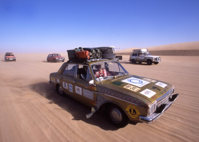 Extreme Trifle Plymouth Dakar Rally Hillman Hunter