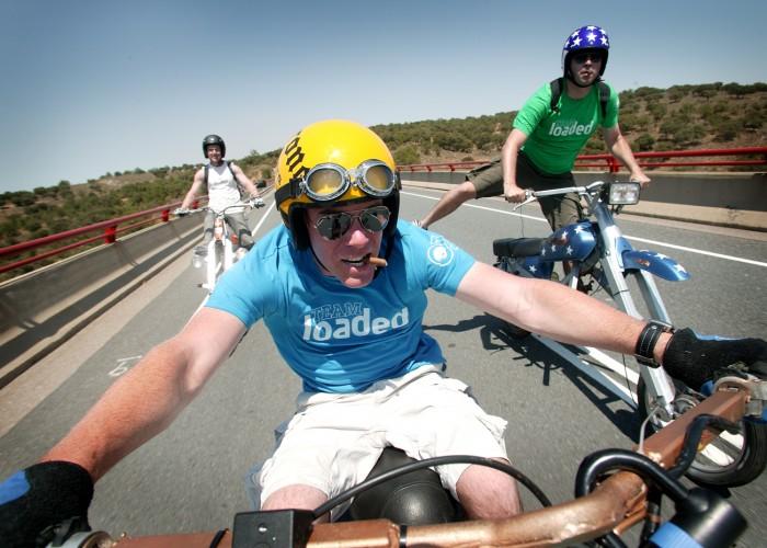Extreme Trifle Cheesy Rider Moped Rally Faro