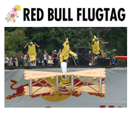 Extreme Trifle Events - Red Bull Flug Tag