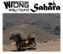 Extreme Trifle Events - Wrong Way Round Sahara