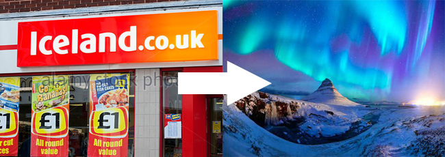 Iceland – not just for frozen prawn rings