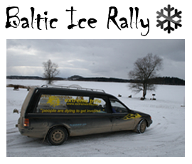 Extreme Trifle Adventures - Baltic Ice Rally