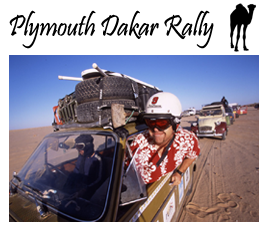 Extreme Trifle Adventures - Plymouth - Dakar Rally