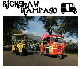 Extreme Trifle Adventures - Rickshaw Rampage